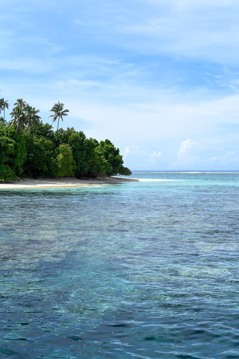 Nu'usafee Island / Sinalei Reef Resort & Spa / A Luxury Beachfront Samoa Resort