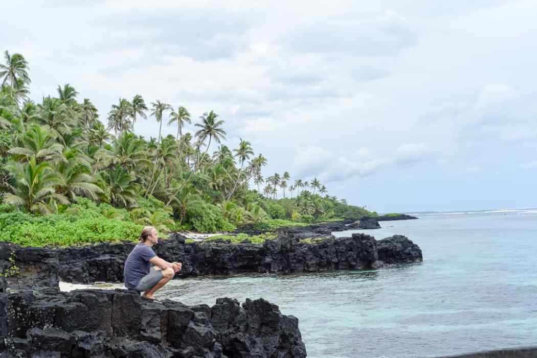 Surfing samoa / surf travel blog
