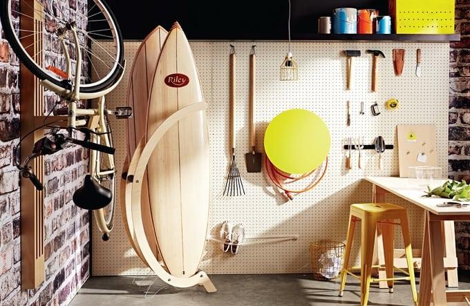 surfboard racks / vertical surfboard rack