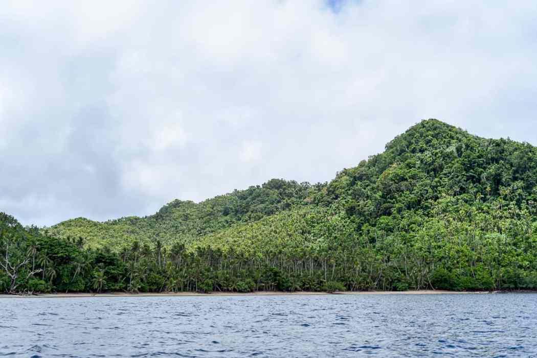fiji islands remote Qamea island