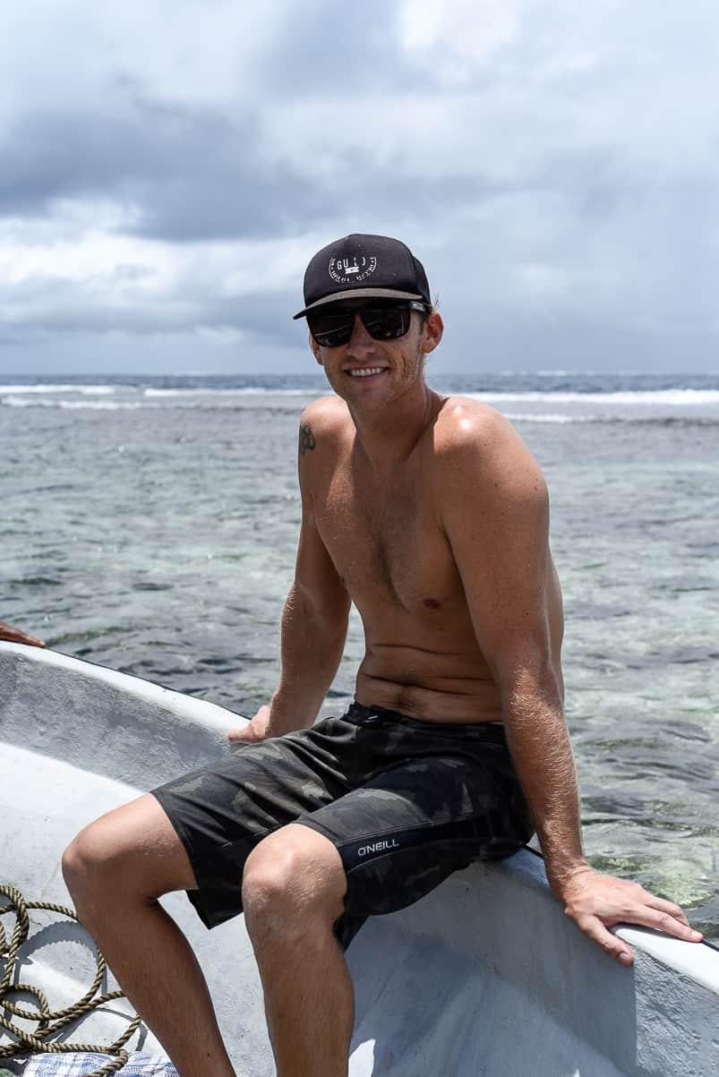 spearfishing Fiji islands Qamea island