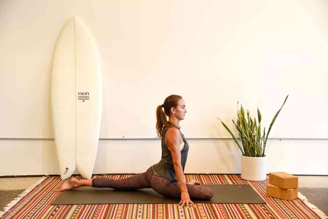 yoga for surfers / surf yoga