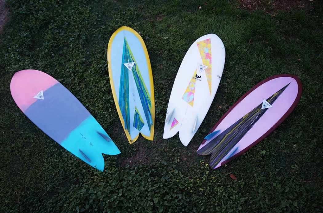 surfboard design jive surf