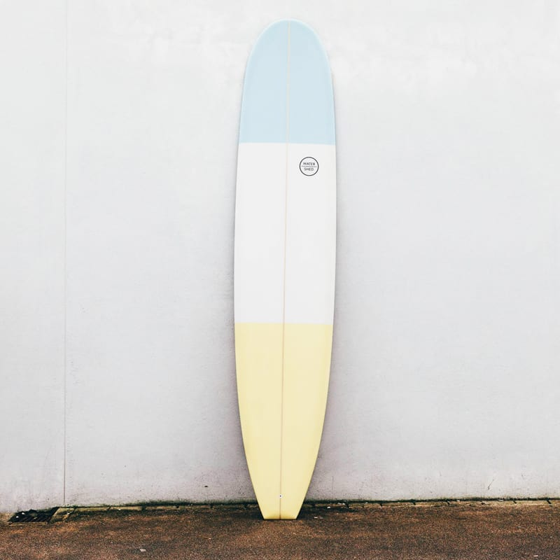 longboard watershed surfboards