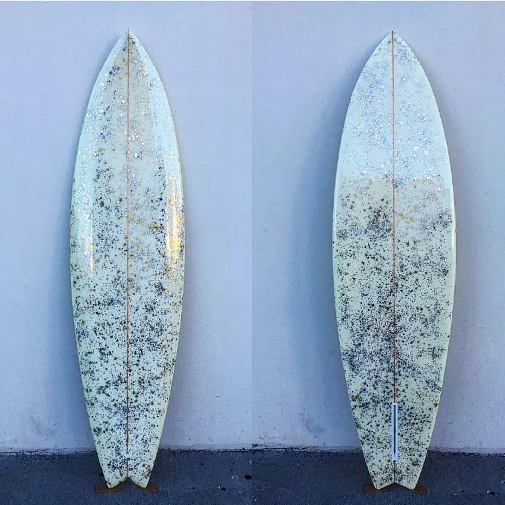 surfboard glitter pierson shapes