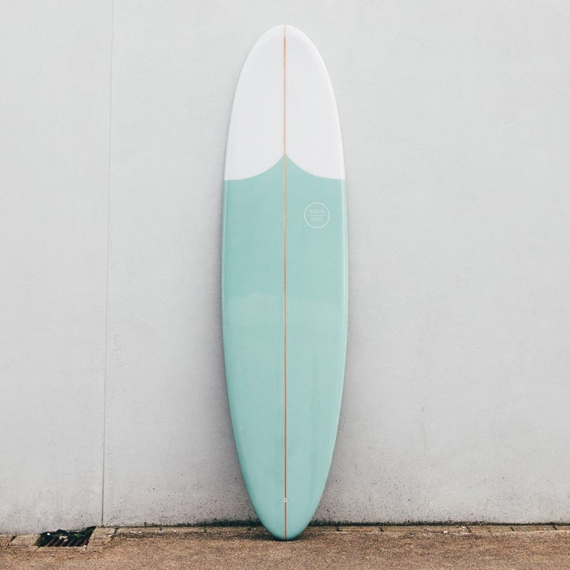 watershed surfboards egg mint