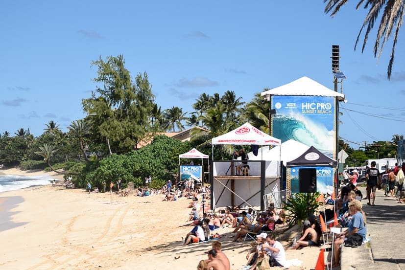 north shore surf competition