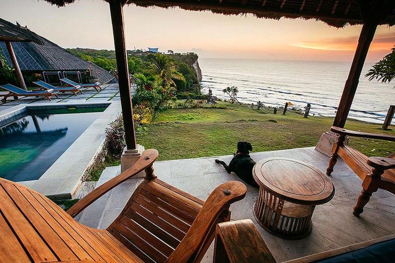 bali hotels uluwatu surf villas