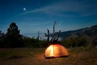 Tent Camping in California