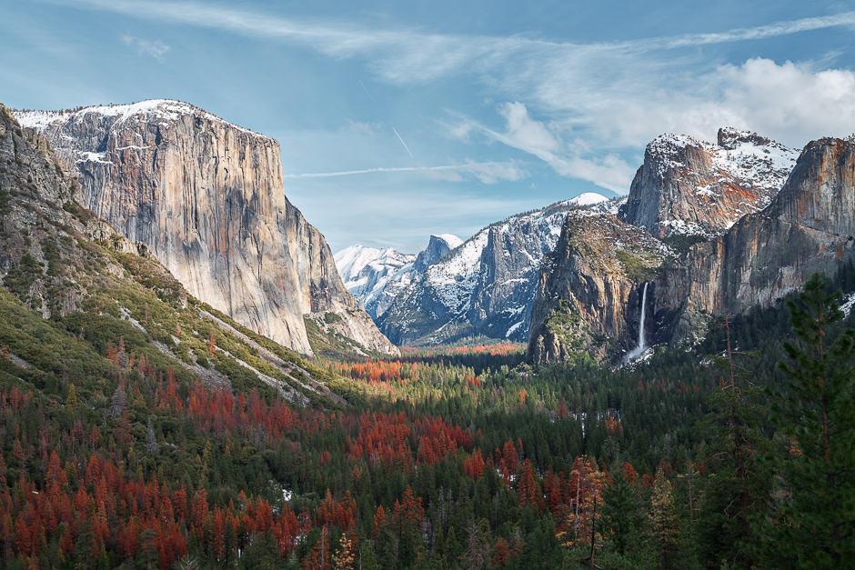Camping in California / Yosemite