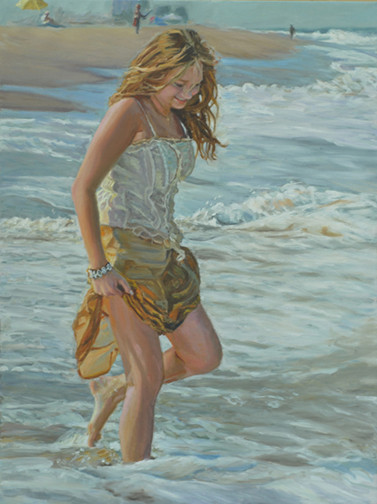 Peinture de Mark Eliot Lovett