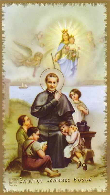 """Résultat de recherche d'images pour """"Saint Jean Bosco sainte Vierge"""""""""""