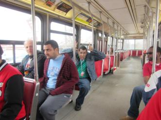 Riding the streetcar