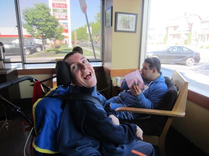 Smiles at Starbucks