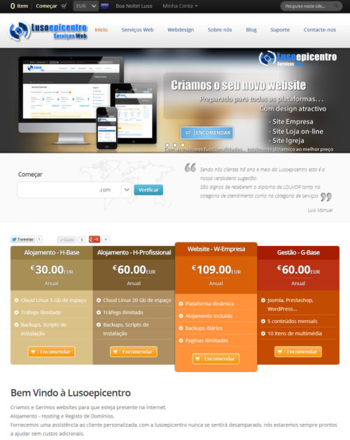 Website Lusoepicentro