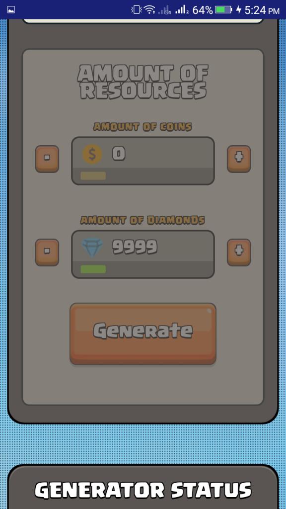 Screenshot of Free Fire Generator 2019