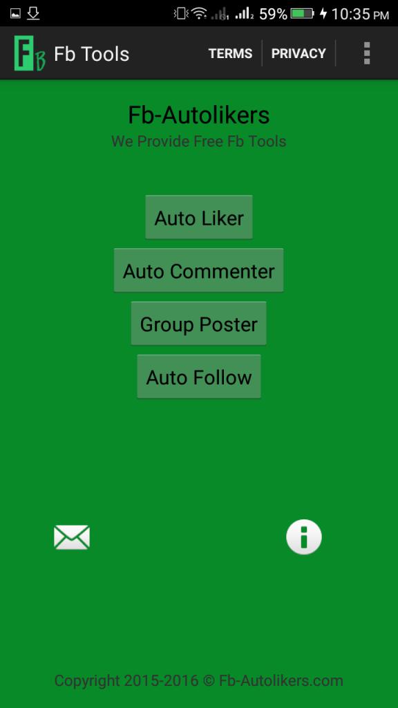 Screenshot of Fb Tools Apk