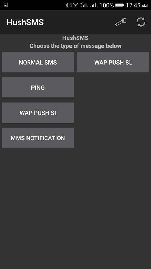 Screenshot of HushSMS Apk