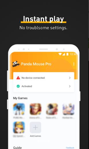 ScreenShot of Panda Mouse Pro App