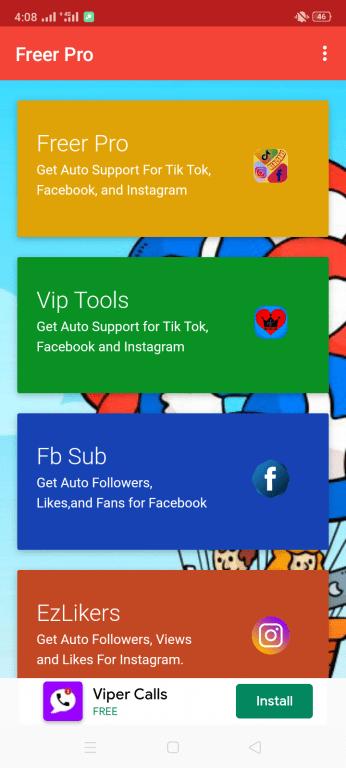 Screenshot of Freer Pro Apk