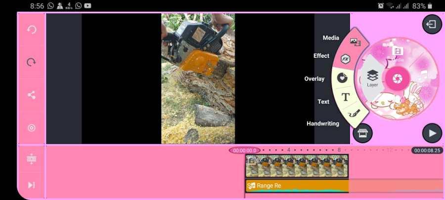 Screenshot of Kinemaster-