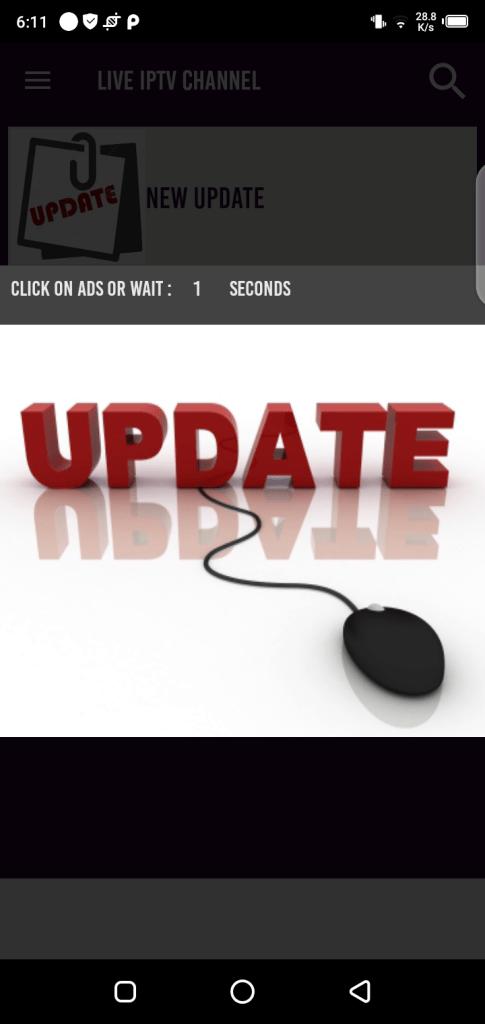 Screenshot of Spoty TV App APK