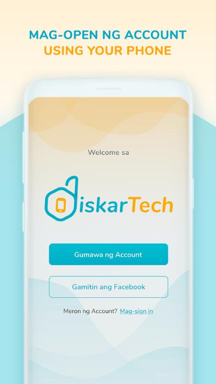 Screenshot of DiskarTech Apk
