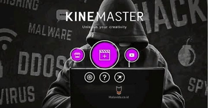 Screenshot of Kinemaster Darknet Apk