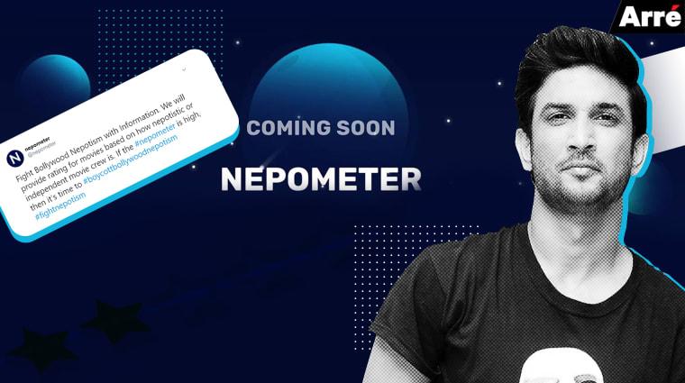 Screenshot of Nepometer App