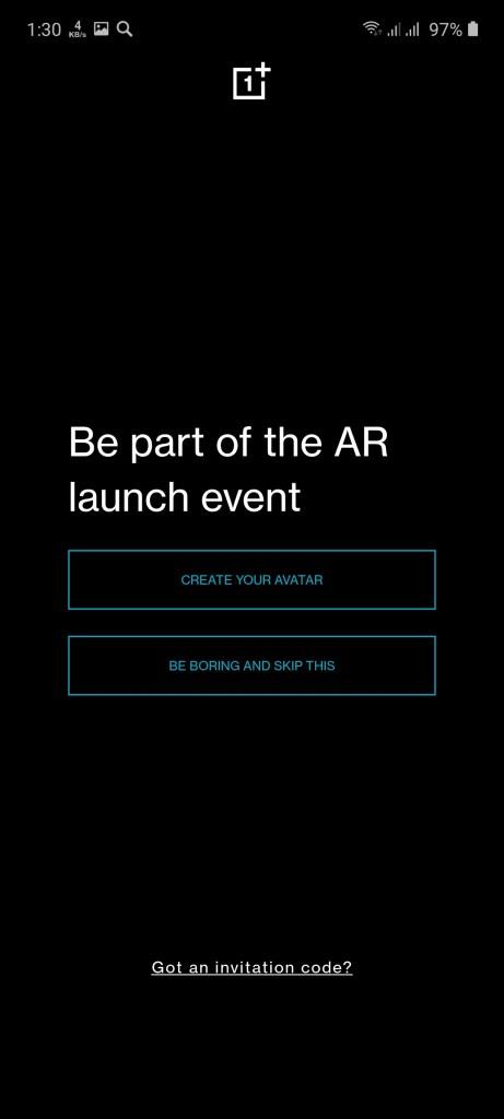 Screenshot of OnePlus Nord App