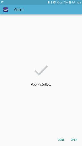 Screenshot of Chikii App