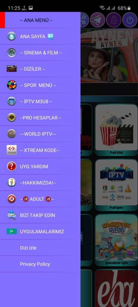 Screenshot of ILLEGAL TV VIP Download