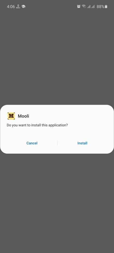 Screenshot of Mooli Apk