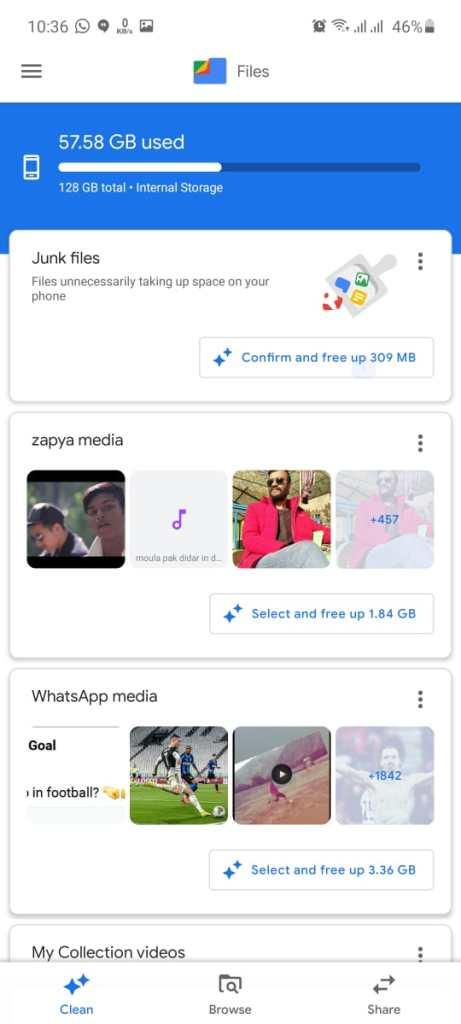 Screenshot of Nearby Share Apk