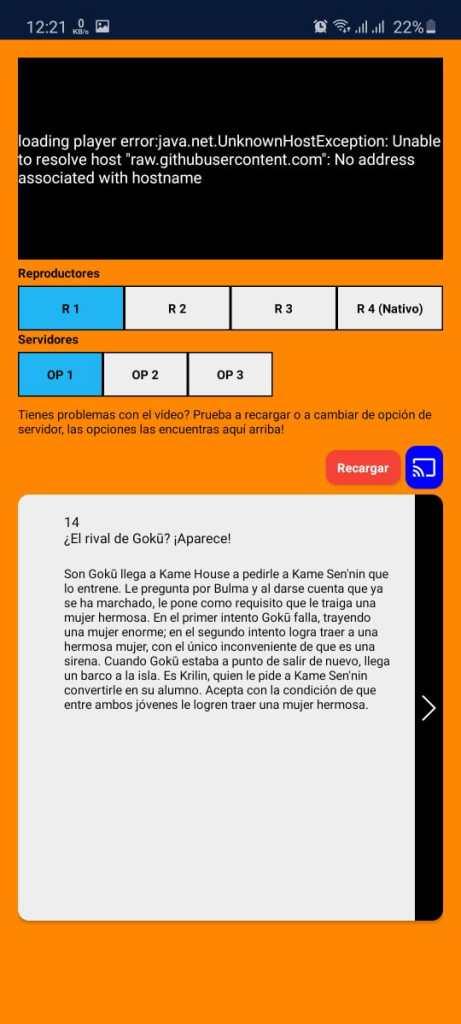 Screenshot of Ninjanime Apk Download