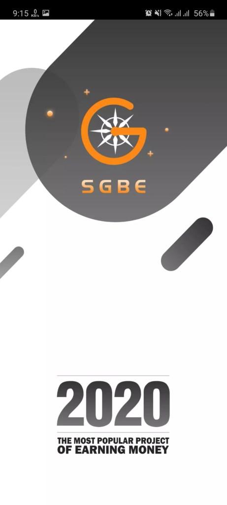 Screenshot of SGBE