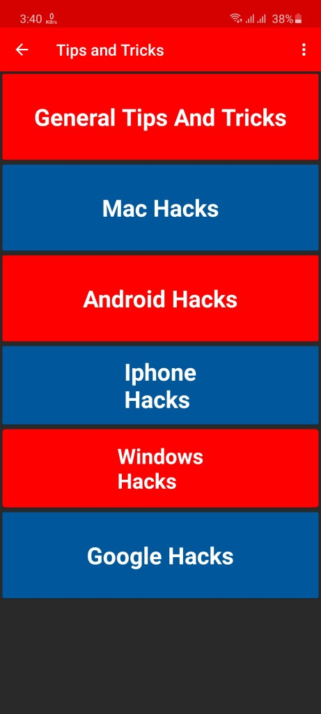 Screenshot of I Hack You Apk