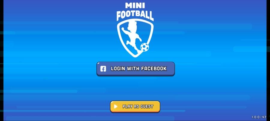 Screenshot of Mini Football Apk
