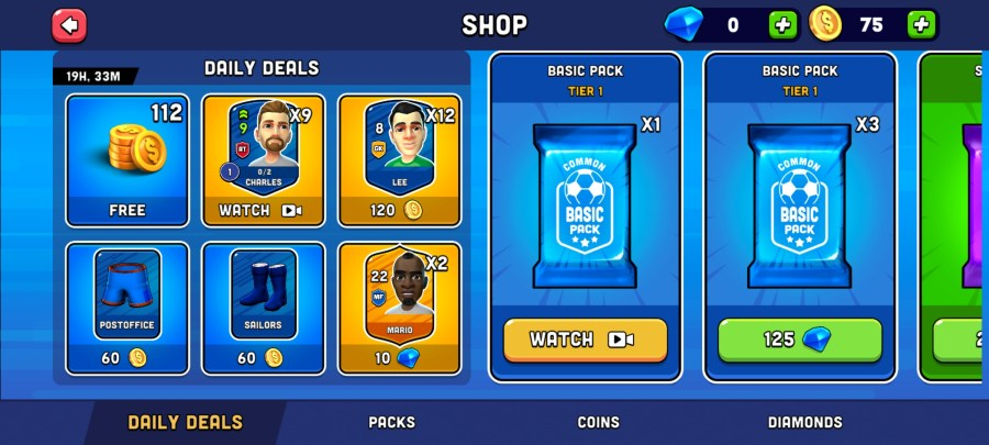 Screenshot of Mini Football Hack