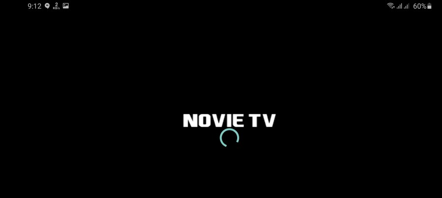 Screenshot of Novie TV