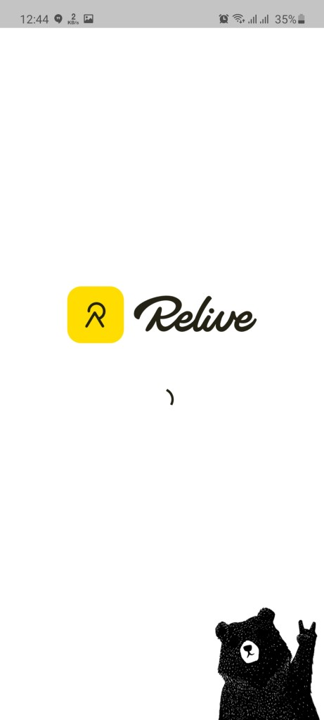 Screenshot of Relive Apk