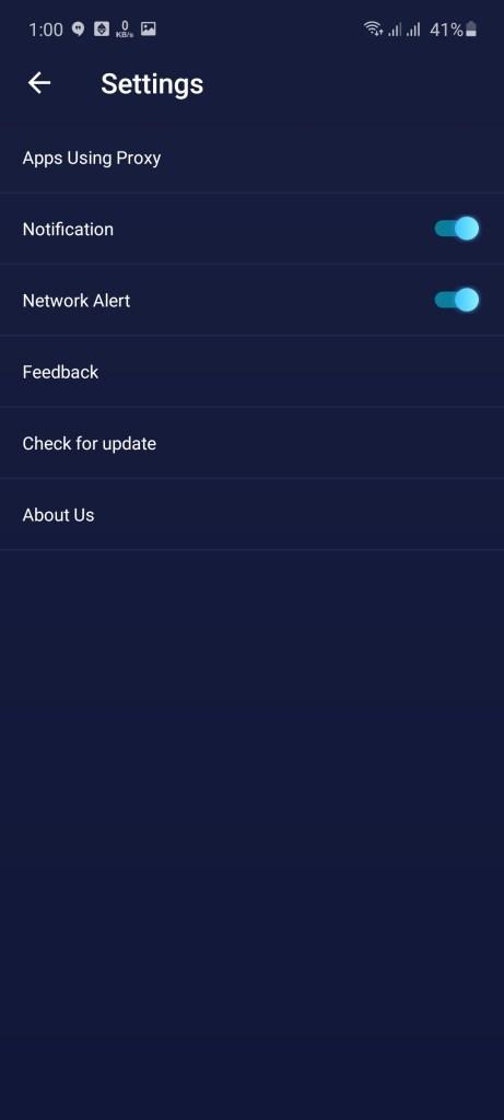 Screenshot of Shoora VPN Download