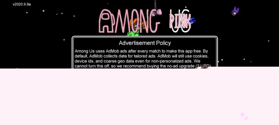 Screenshot of Among Pink Mod
