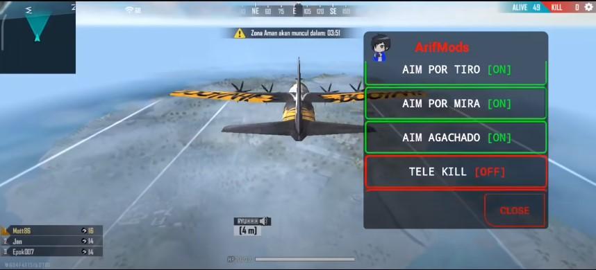 Screenshot of Arif Mods FF