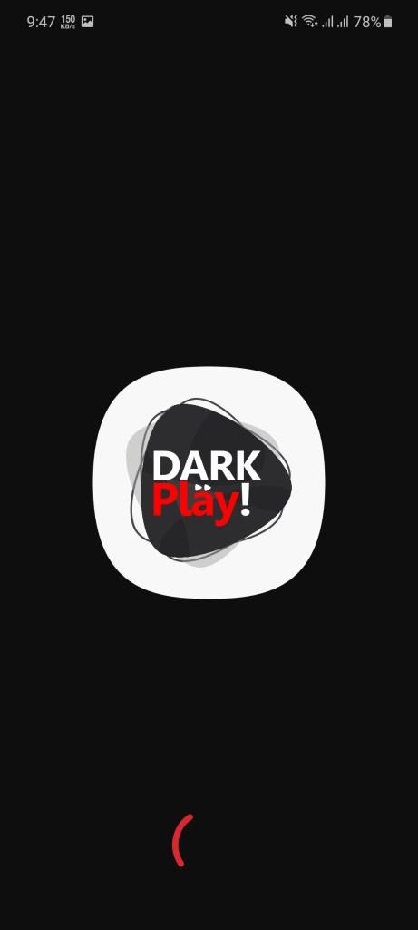 Screenshot of Dark Play Apk