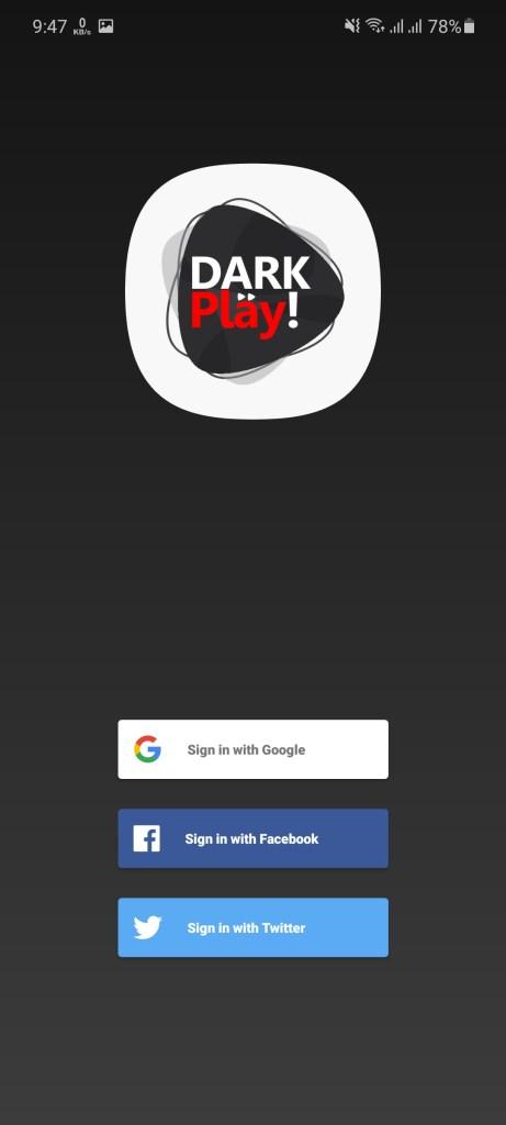 Screenshot of Dark Play