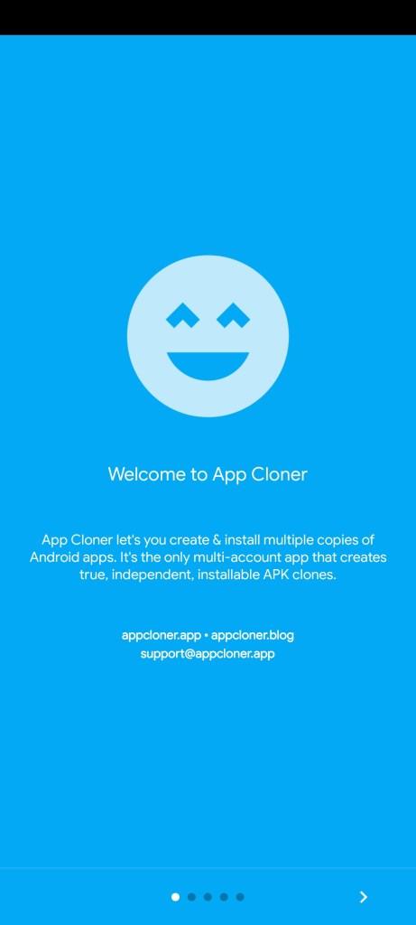 Screenshot of App Cloner Premium