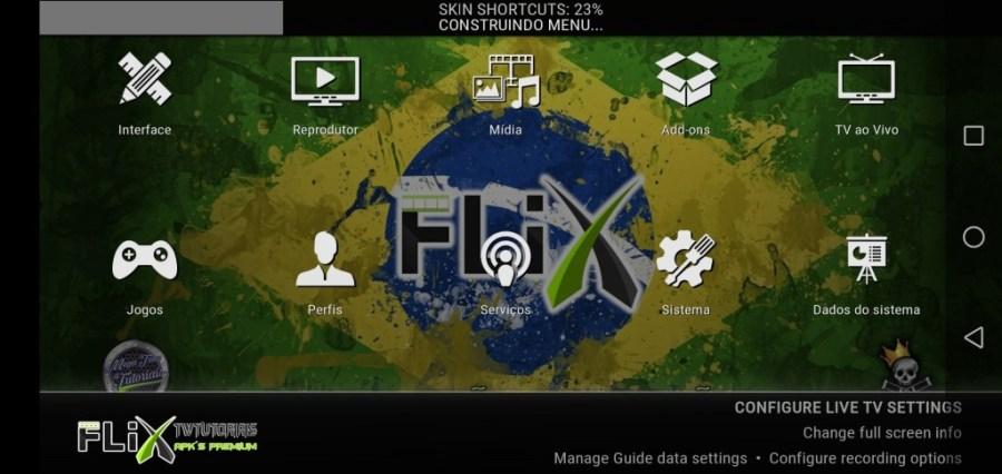 Screenshot of Flix TWT App