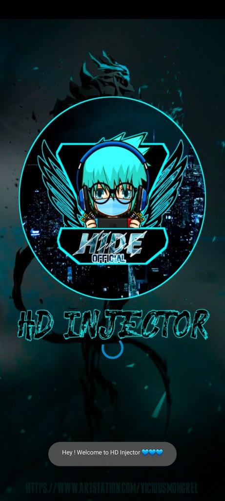 Screenshot of HD Injector
