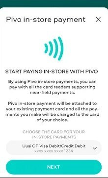 Screenshot of Pivo App
